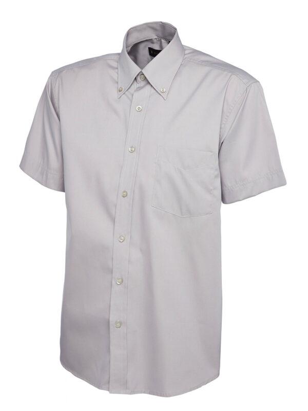 Mens Pinpoint Oxford Half Sleeve Shirt